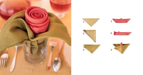 wedding-rose-napkins-1