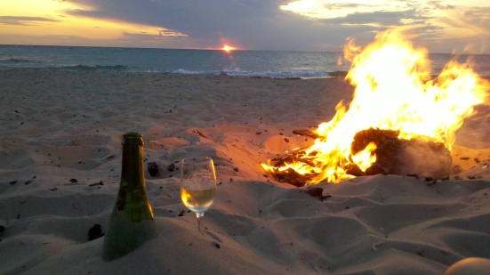 Brillante-Sunset-and-Fire-at-Empire-Beach